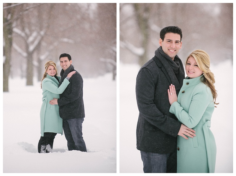 Winter Engagement Session in Buffalo NY